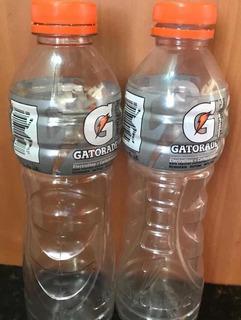 Botellas Gatorade Plástica Vacía Con Tapa Reciclada