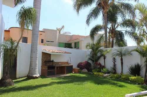 Magnifica Residencia Zona Exclusiva Al Norte De Cuernavaca