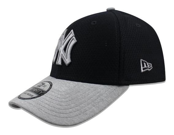 Gorra New Era 39 Thirty Mlb Yankees Popped Shadow 2 Azul