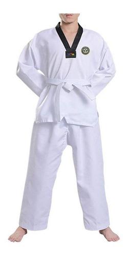 Equipo De Taekwondo Dobok Itf Traje Indumentaria - El Rey