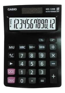 Calculadora Casio Mx - 120b Portatil 12 Digitos