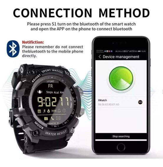 Relógio G-shock Militar Multifuncoes Lokmat Ex 16