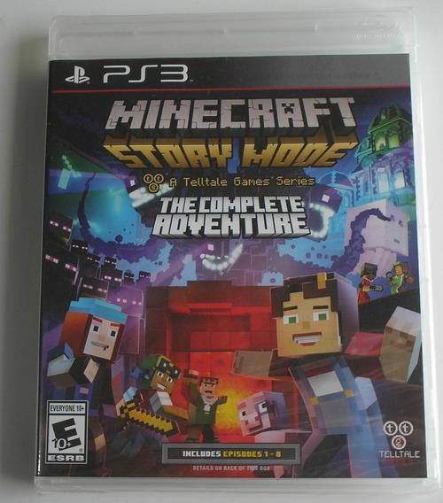 Minecraft Story Mode The Complete Adventure Ps3 Lacrado