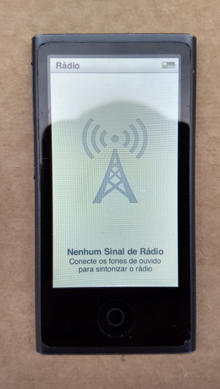 iPod Nano 7 16gb Chumbo Bluetooth Usado Parcela Leia U0f0gv