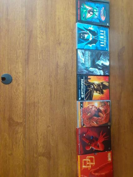 7 Dvds Raros De Super-heróis!