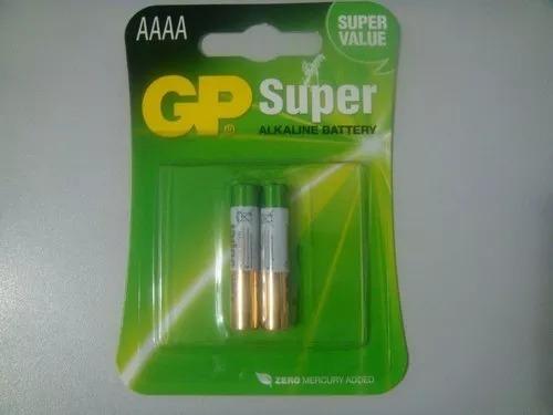 Pilha Alkalina Aaaa 1,5v Gp