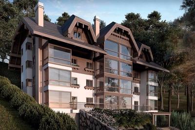 Apartamento Residencial À Venda, Floresta, Gramado - Ap0060. - Ap0060