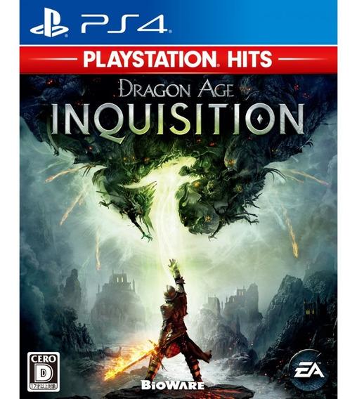 Jogo Dragon Age - Inquisition (novo) Ps4