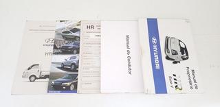 Manual Do Proprietário Hyundai Hr 100 Original