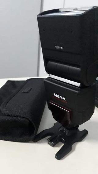 Flash Sigma Ef-610 Dg Super Na-ittl Nikon Pronta Entrega