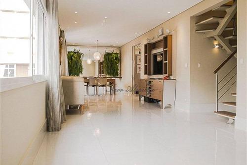 Imagem 1 de 30 de Cobertura Com 3 Dormitórios À Venda, 340 M² Por R$ 4.530.000,00 - Jardim América - São Paulo/sp - Co1287