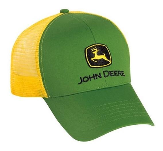 Cachucha John Deere 100% Original Gorra Malla Modelo Lp43423
