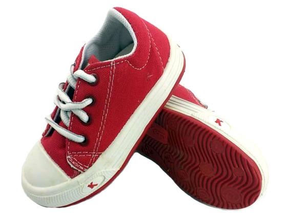 Zapatillas Kickers Owen Rojo Niños 511514 Eezap