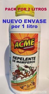 Repelente De Mamíferos, Roedores, Reptiles, Ex Dr. Rata, X 2lt (belgrano)