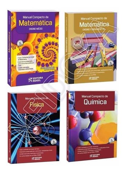 Manual Compacto Matemática, Química Ou Física