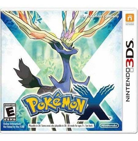 Pokémon X Semi-novo 3ds