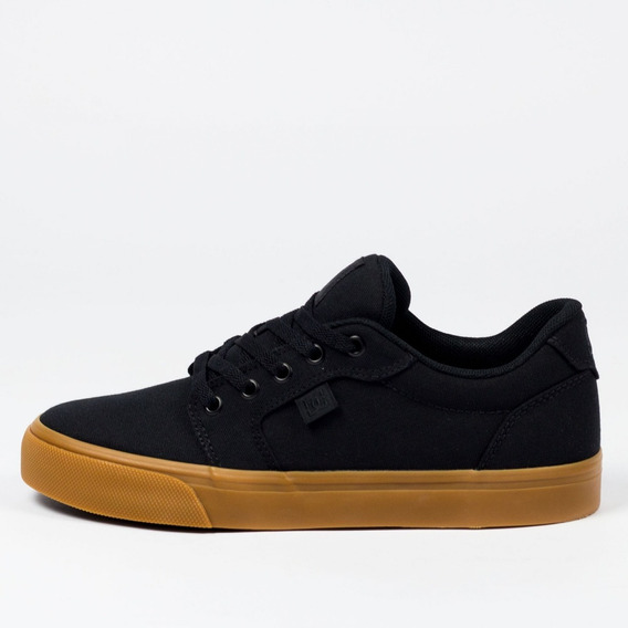 Tênis Masculino Dc Shoes Anvil Tx La Preto/caramelo Original