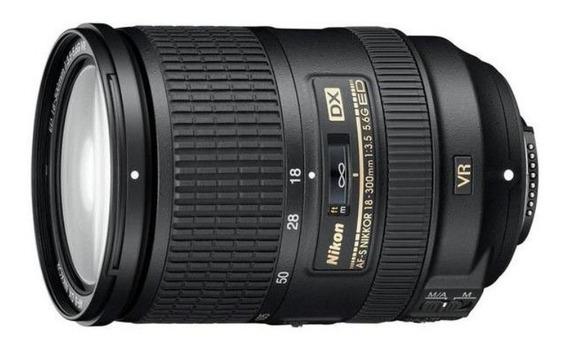 Lente Nikon 18 - 300