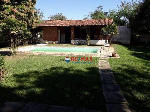 Imagem 1 de 11 de Chácara Com 3 Dormitórios À Venda, 1813 M² Por R$ 550.000,00 - Loteamento Chácaras Vale Das Garças - Campinas/sp - Ch0137