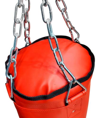 Imagen 1 de 3 de Bolsa De Boxeo 90 Cm Reforzada Box Con Relleno Y Cadena
