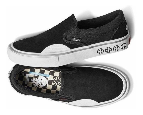 Zapatillas Vans X Independent Slip On Pro. Envío Sin Cargo.-
