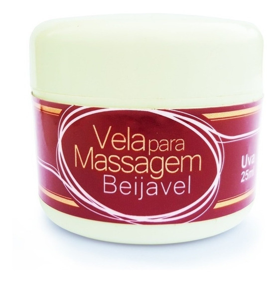 4 Und Vela Hidratante Beijavel Corporal Massagem Refrescante