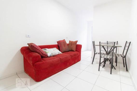Apartamento Térreo Mobiliado Com 1 Dormitório - Id: 892958592 - 258592