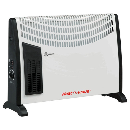 Imagen 1 de 5 de Calefactor Electrico Conveccion 1500 W Turbo Heat Wave Envio