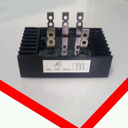 Sql100a1600v 5338 3phase Puente Rectificador  5p 100a 1600v