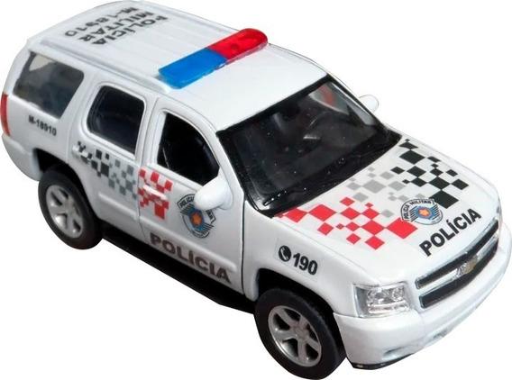 Miniatura Chevrolet Tahoe Polícia Militar Pm Sp - Atual