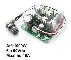 Controlador P/ Motor Dc - Variador De Velocidade Até 15a 80v