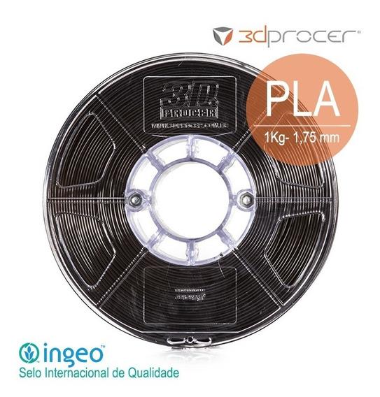 Filamento Pla 3d Procer 1,75mm 1kg - 29 Cores Variadas