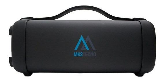 Caixa De Som Portátil Bluetooth Mk2 F72 25w Rms