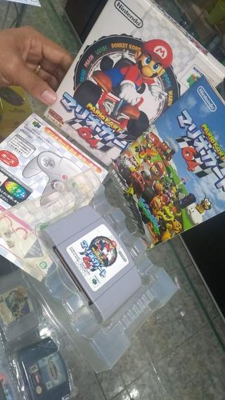 Mario Kart Jp 100% Original Na Caixa Nintendo 64