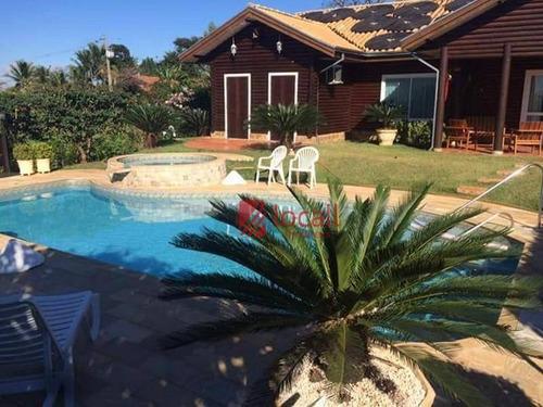 Chácara Com 4 Dormitórios À Venda, 1256 M² Por R$ 1.300.000,00 - Condomínio Enseada Azul Ii - Fronteira/mg - Ch0022