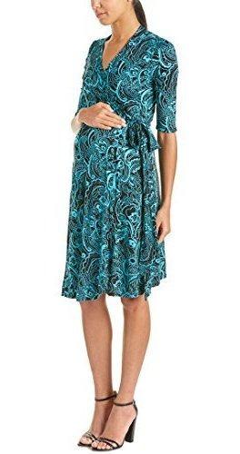 Everly Kaitlyn - Vestido De Maternidad Para Mujer, Color Gri