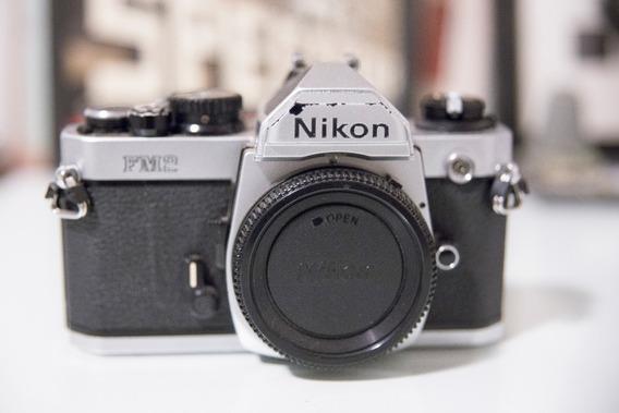 Câmera Fotográfica Nikon Fm2 (analógica/usada)