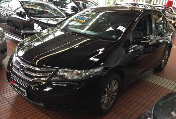 Honda City Ex 1.5 Automático Couro Novíssimo 2013
