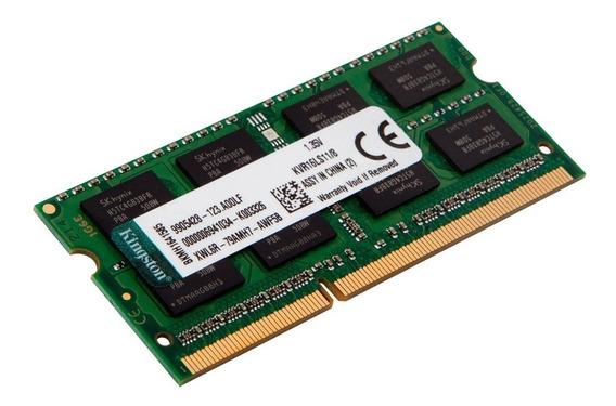 Memória Kingston 4gb 1600 Mhz Ddr3l Notebook Kvr16ls11/4