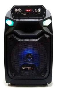 Netmak Parlante Nm-fusion Portatil Bluetooth Microfon Cuotas