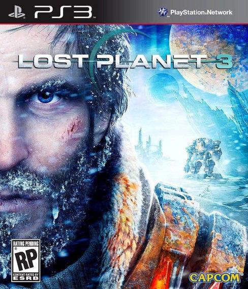 Jogo Lost Planet 3 Ps3 Playstation 3 Frete Grátis Mídia Físi