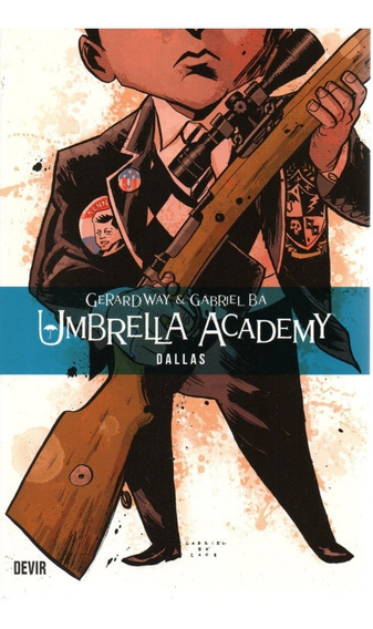 Umbrella Academy 2 - Dallas - Devir - Bonellihq C19