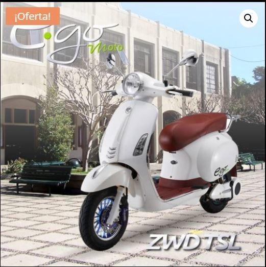 Moto Eléctrica - Autonomía 50 Km - 45 Km/h - $200 Por Carga