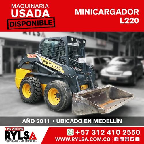 Minicargador New Holland L220
