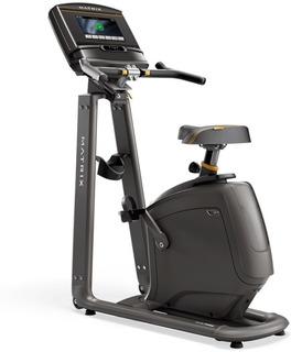 Bicicleta Vertical Matrix U30 Xer Con Consola Hd Residencial