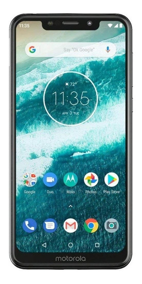 Motorola One Dual SIM 64 GB Blanco
