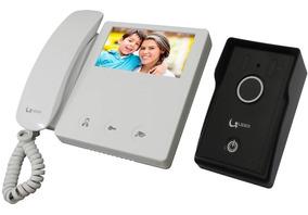 Interfone Com Câmera Colorida Tela Lcd 4.3 Líder Toch