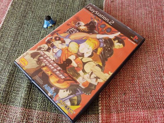 Ps2 Street Fighter Ex3 Original Japonês