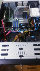 Servidor Intel Xeon 16 Cores Raid Com Ssd Fonte 650w Reais