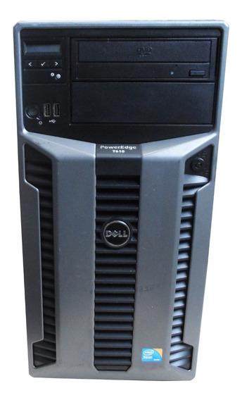 Servidor Dell Poweredge T610 2 Xeon 5570 64gb 1,2tb Sas